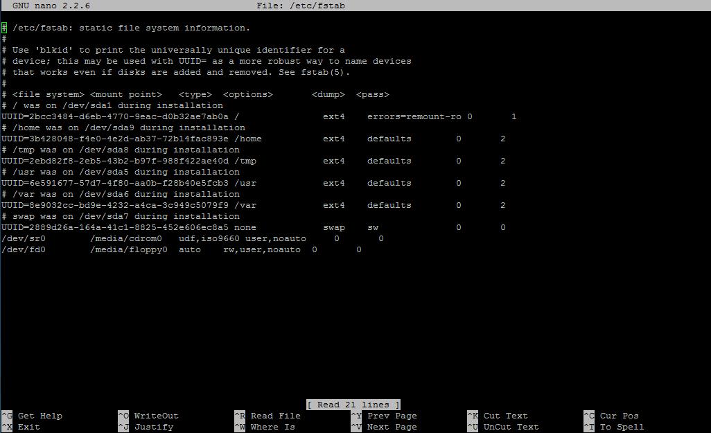 MySQL data on secondary hard disk - /dev/random